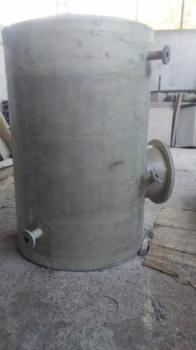 FRP,  HDPE Lined FRP HDPE Lined FRP Vessels, Capacity: Upto 30000L