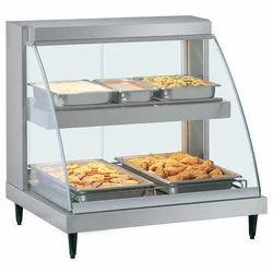 50 - 60 Hz. Stainless Steel Food Display Case