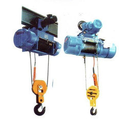 1Ton Electrical Wire Rope Hoist with central trolley
