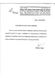 kolhapur Zhilla Sahakari Dudh Utpadak sangh Limited