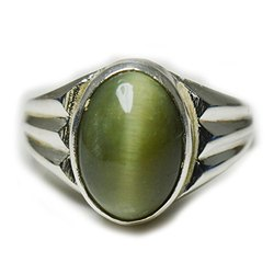 Natural Cats Eye Ring (Lehsuniya)