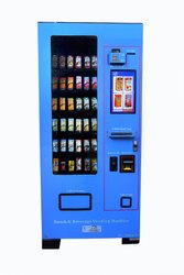 Combo Vending Machine for Snacks and Beverages