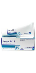 Benzac AC Benzoyl Peroxide 5% Gel
