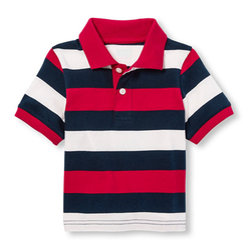 Multicolor Multocolor Kids-Polo-T-Shirt