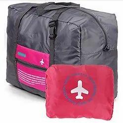 Multicolor Nylon Luggage Bag (Orange_PETRICE-FOLDING-LUGGAGE-BAG-ORANGE_16)