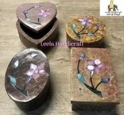Soap Stone Rectangle Box 4''
