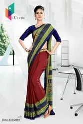 Stylish Uniform Sarees