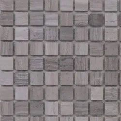 Capstona Stone Mosaics Grey Wood Tiles