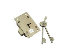 Cupboard Lock - Brass ( Special Heavy ) L-FL-CL-003