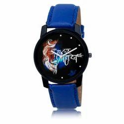 LD Blue Mahadev Analog Wrist Watches LD10