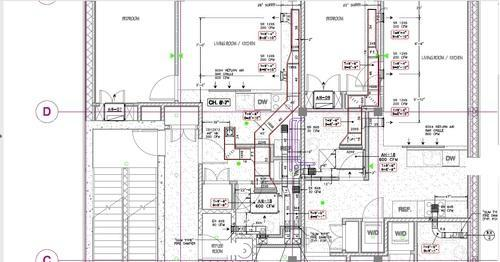 Hvac Drafting Drawing At Silicon Engineering Consultants