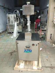 Semi Automatic Lug Capping Machine