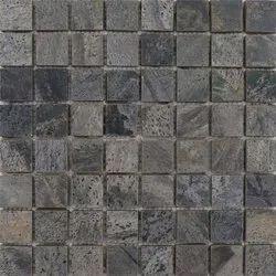 Capstona Stone Mosaics Silver Shine Tiles