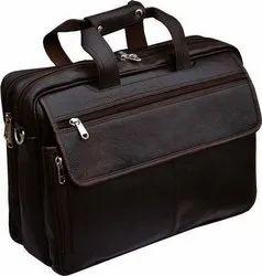 Brown Laptop Bag Cum Office Bag