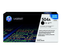 HP CE250A 504A Black Toner Cartridge