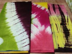 Printed Chanderi Silk Fabric