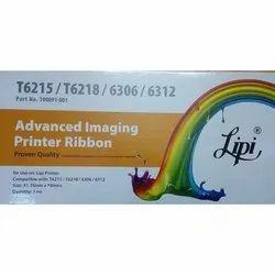 T6215 Lipi Black Printer Ribbon