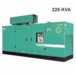 225 KVA Silent Generator