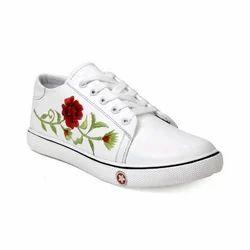 Shoecom Women Canvas Lace Up Casuals Shoes