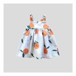 Baby Girl Cotton Printed Dress