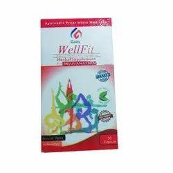Geeta Wellfit Rejuvenating Multivitamin Herbal Capsules, Packaging Type: Bottal