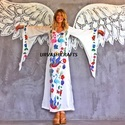 Digital Printed Butterfly Kaftan