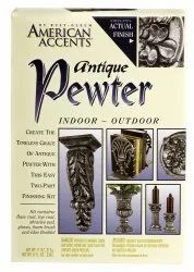 American Accents Decorative Antique Pewter Spray Paint