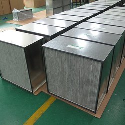 Madhav Stainless Steel HEPA Filter, For Industrial, Flow Capacity Range: Above 2000 cfm