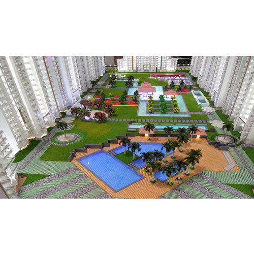 3D Society Building Model Making Service in Pul Pehlad Pur