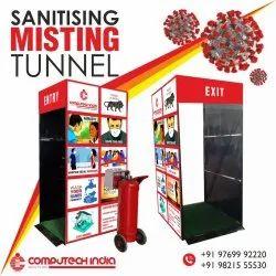sanitising misting tunnel