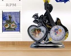 7823 Photo Frame with Clock