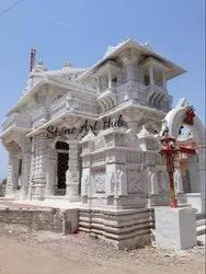 Makrana Marble Temple Construction
