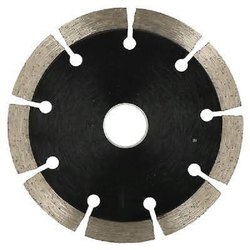 Silver and Black Stainless Steel Diamond Tile Cutting Disc