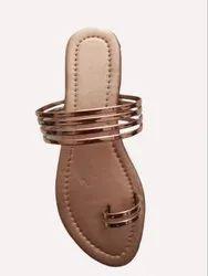 Flat Daily wear Women's Slippers, Size: 5-9
