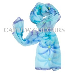 Designer Hand Painted Scarves