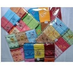 Square Printed Cotton Handkerchief