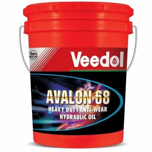 Heavy Duty Anti Wear Hydraulic Oil, Packaging Size: 20L