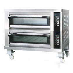 2 Deck Oven With Steam And Digital Control