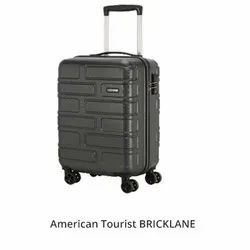 American Tourister Black Bricklane Gunmetal Trolley Bag, For Travelling