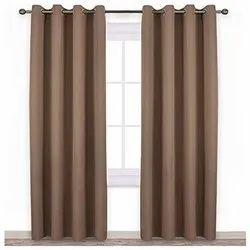Plain Polyester Blackout Curtain