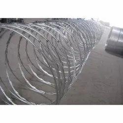 Single Razor Concertina Wire Coil, For Industrial