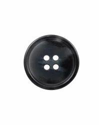 Black Shank Coat Button