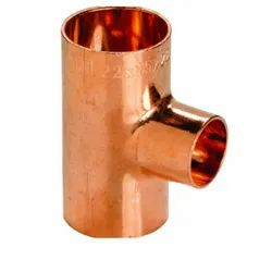 Copper Unequal Tee Fittings