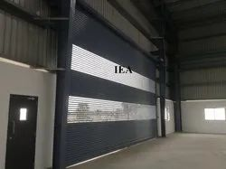 Partially Perforated Rolling Shutter