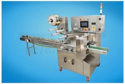 Single Servo Model Flow Wrapping Machine
