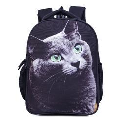 d3e50760a4bc Solid Surya Polyester Black School Bag With Printed Character For Girls    Boys (Age Gr..