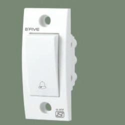 B'Five White 6 Ampere Bell Switch