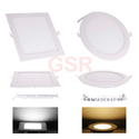 6W Slim LED Panel Downlight Square