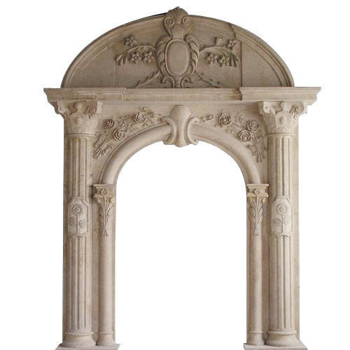 Beau Marble Stone Arch Door