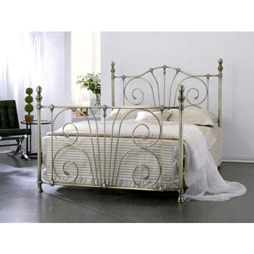 Stainless steel bed warranty 3 year rs 9100 piece - Stainless steel bedroom furniture ...